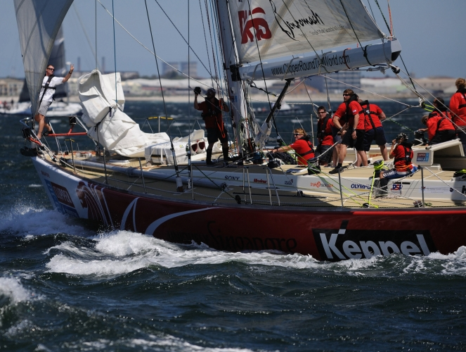 Clipper Racing, Cape Town